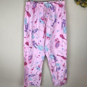CACIQUE Pink pajama pants size 14/16